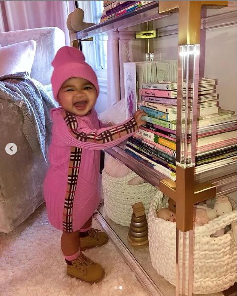Khloe Kardashian shares adorable new photos of baby True as she clocks 10 months 1
