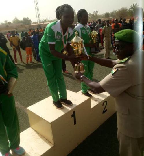 Nigerian Armys female team wins West African marathon in Niger Republic (Photo)
