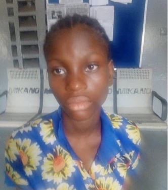 Photo: 19-year-old nursing mother stabs her husband to death over alleged infidelity in Lagos
