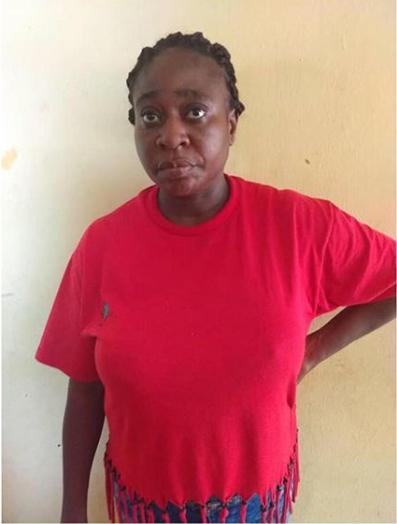 39-year-old woman arrested for defrauding church of N100m in Ogun State (Photo)
