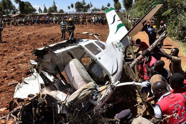 Four Americans tourists and their pilot killed in Kenya helicopter crash