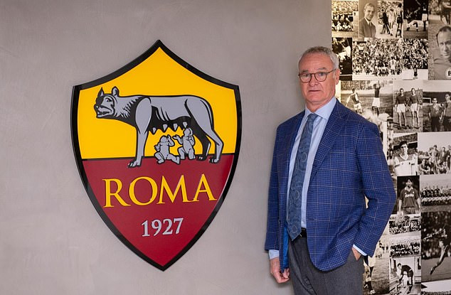 Claudio Ranieri confirmed as Roma new coach just eight days after he was sacked by Fulham