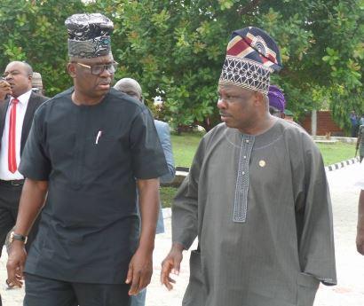 Savage! Ayo Fayose mocks Governor Amosun over Dapo Abiodun's victory as Ogun State governor-elect