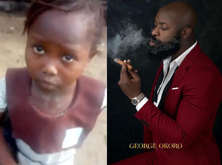 Abuja entrepreneur, Charles Okpaleke pledges to sponsor little girl who was chased from school for not paying school free till her University level