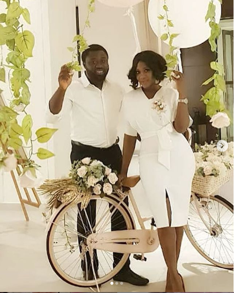 Beautiful new photos of Mercy Johnson and her husband Prince Odianosen Okojie