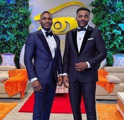 'You are the next host of BBNaija' - Davido tells Tobi Bakre