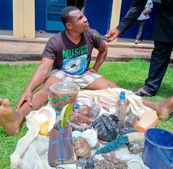 Photo: Pastor arrested for impregnating and aborting baby of teenage member of his church