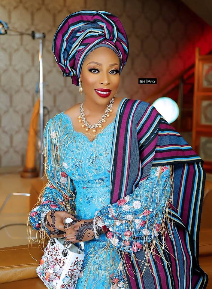 Check out Mo Abudu's stunning look to her daughter's wedding (photos)