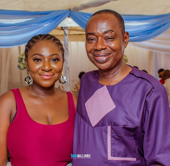Yvonne Jegede showers encomium on her father
