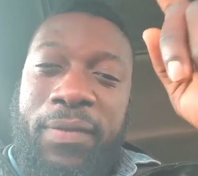 ''May you die before your time'' actor Seun Sean Jimoh places curses on SARS officials, clapsback at fan asking him to leave the US to protest against SARS