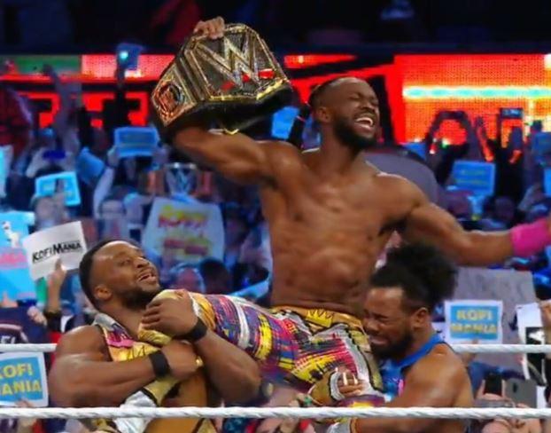 #Wrestlemania:Kofi Kingston becomesthe first ever black man to emerge WWE champion