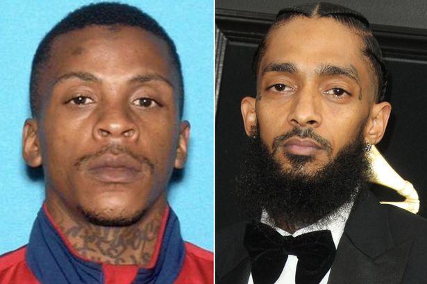 Slain rapper, Nipsey Hussle's alleged killer Eric Holder fired additional shots at him after he talked back to him