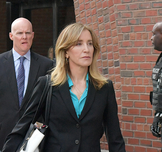Actress Felicity Huffman plead guilty to college cheating scam, faces 27 months in prison