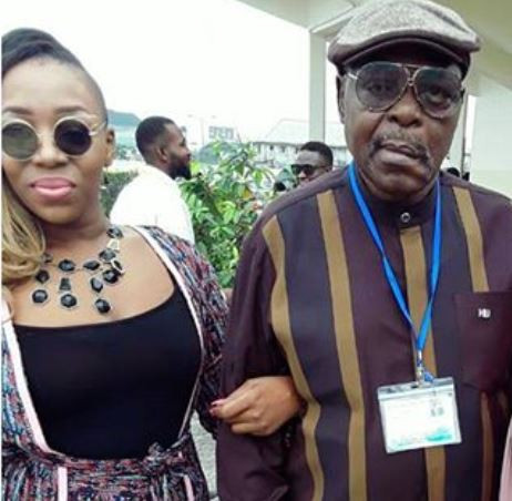 Female rapper, Pryse loses her dad!