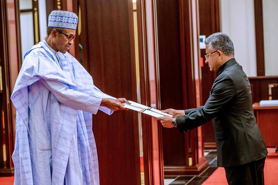 'You are Nigeria's biggest trade partner' - President Buhari commends India