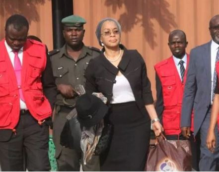 Alleged Money Laundering: Justice Ofili-Ajumobia re-arraigned and granted bail two days after she was re-arrested