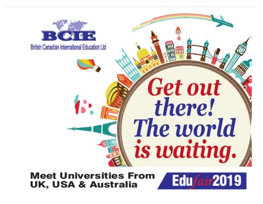 Do not miss the BCIE Education Fair this April