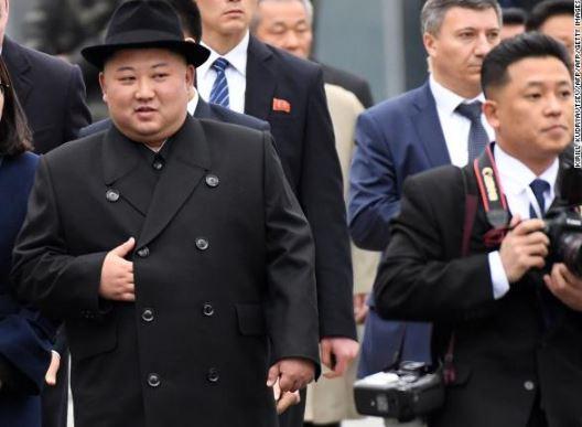 Breaking: North Korean leader, Kim Jong Un arrives in Vladivostok ahead of his first meeting with Russia's Vladimir Putin