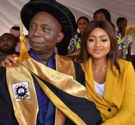 Most of you ladies condemning Regina Daniels sleep with grandpas behind closed doors for IPhone X and money - Ghanaian actress, Haillie Sumney