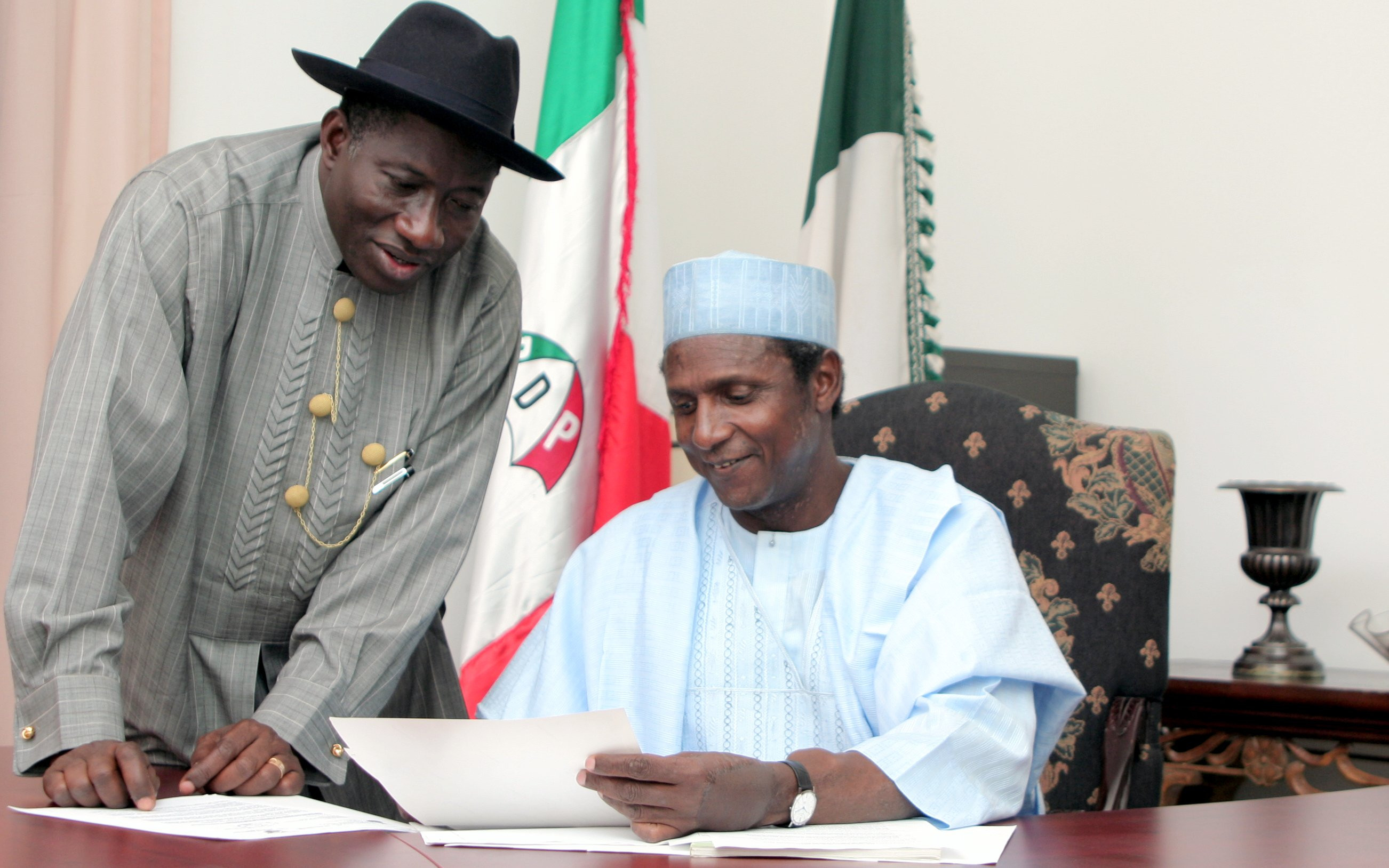'He was a selfless leader who placed national interest above personal and ethnic gains' - Goodluck Jonathan pays tribute to his ex-president Umaru Musa Yar'Adua who died 9-years ago