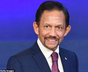 Sultan of Brunei rescinds his decision toenforce the death penalty for gay sex