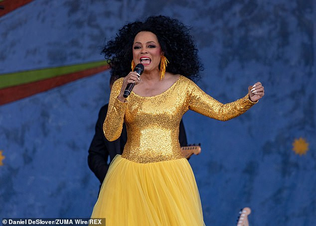 Diana Ross, 74, says she felt 'violated' by airport screener who 'touched her between her legs'