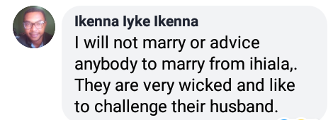 Three men vow not to marry women from Ihiala, Okija, because they are evil challenge their husbands prone to adultery