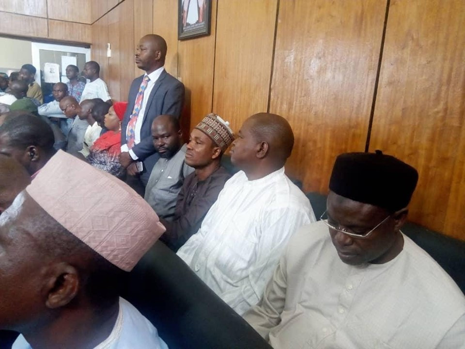 Court remands four Kwara State officials in EFCC custody over money laundering (Photo)