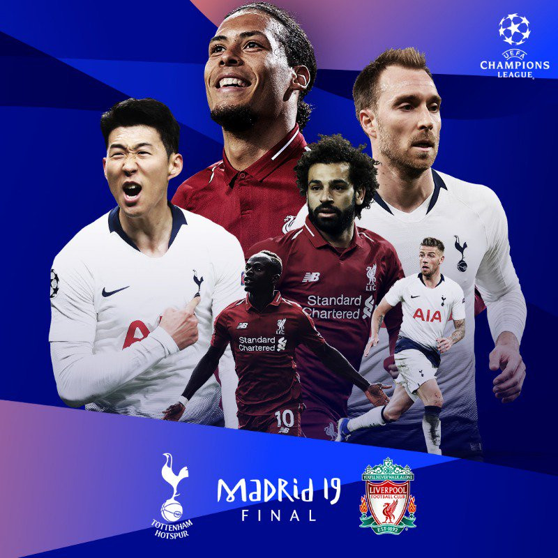 Liverpool to face Tottenham in the Champions League final