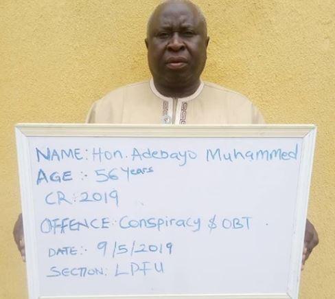 56-year old lawmaker, Adebayo Muhammed arrested over N4m land scam in Kwara State