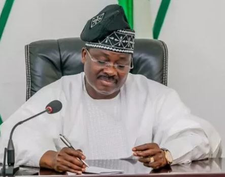 'Let them investigate us and if we have stolen, they should arrest us' - Governor Ajimobi