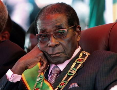 Former ZimbabweanPresident Robert Mugabeauctionsoff harvesters and other farm equipment over alleged financial crisis