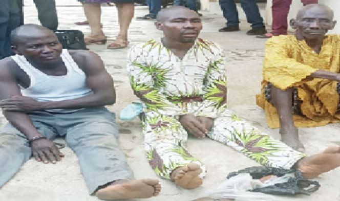 Ex-convict, two others arrested for killing a pastor in Ibadan (Photo)