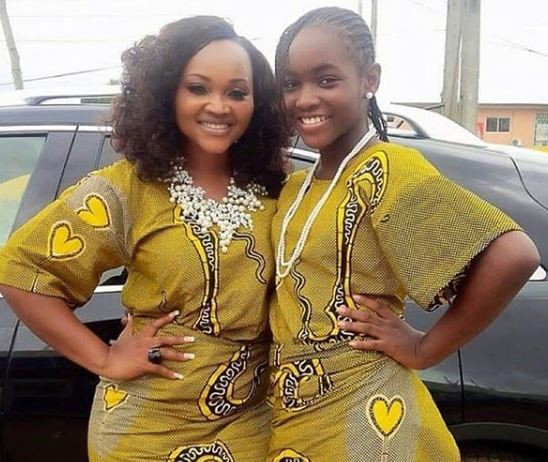 #MothersDay:Mercy Aigbe celebrates herself for playing the role of father and mother to her kids for the past 18-years