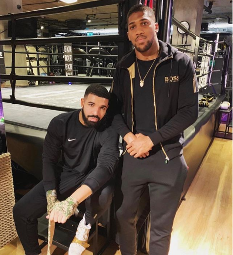 'It is real, I took a picture with Drake before Miller got banned': Anthony Joshua confirms he's a victim of the rapper's 'curse'