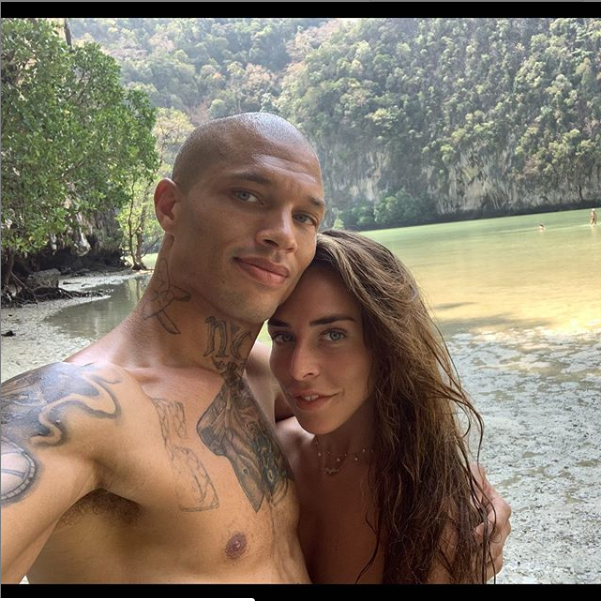 'We are still very much in love lol' - Hot Felon, Jeremy Meeks says he's still with Chloe Green after being spotted with another model in France