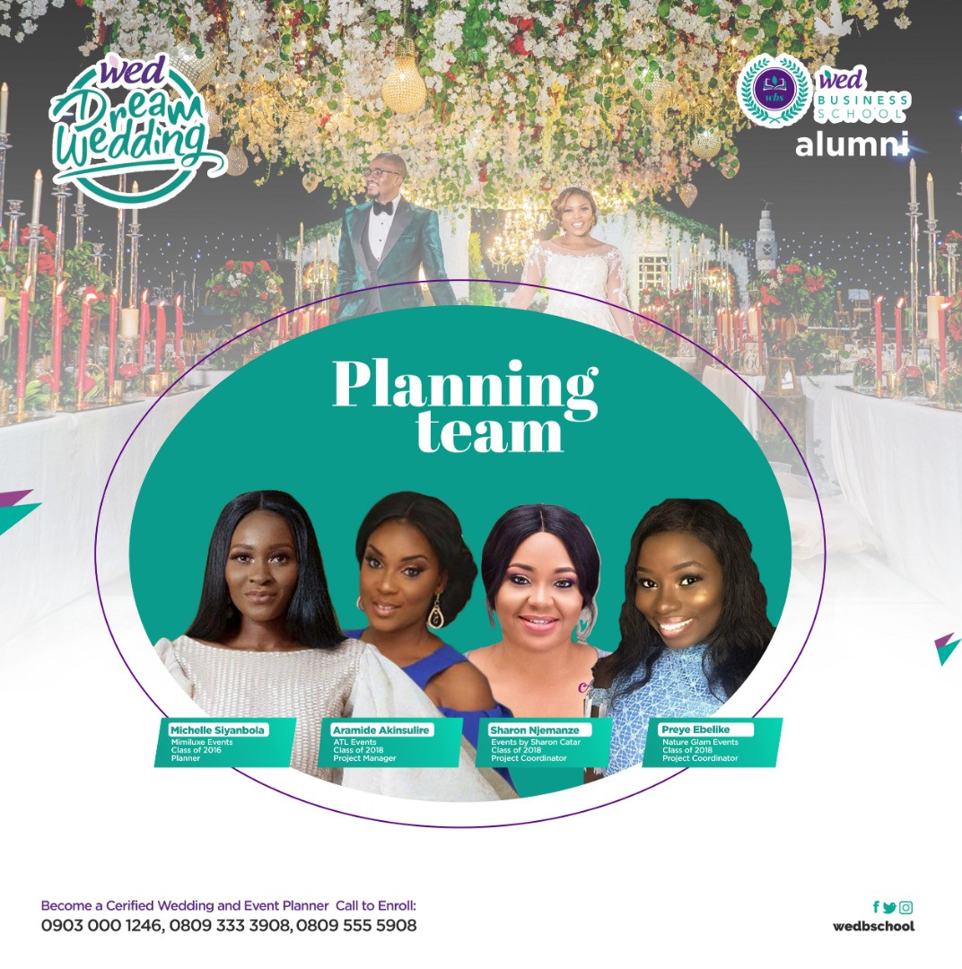 Start a Business in Event Planning at the Wed Business School Lagos Abuja and PH