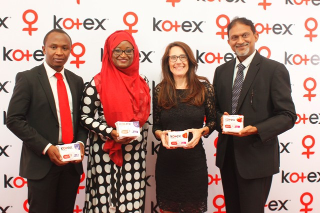Kimberly Clark, one of the world's leading global manufacturers, officially launches its new range of Kotex® sanitary pads and tampons into Nigerian market