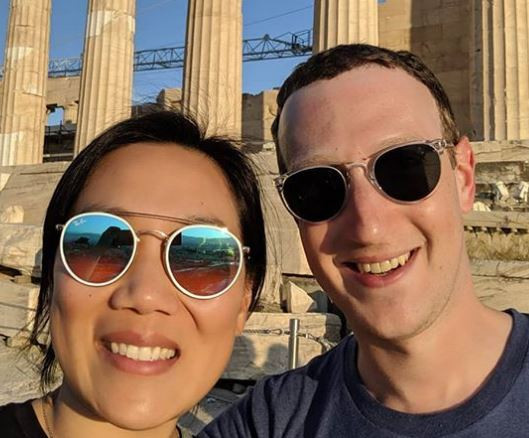 Mark Zuckerberg celebrates 7th wedding anniversary with his wife, Priscilla Chanwith a trip to Greece