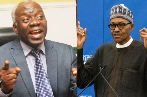 Femi Falana writes a letter to PresidentBuhari to demand release of 40 Nigerians illegally detained by the Navy