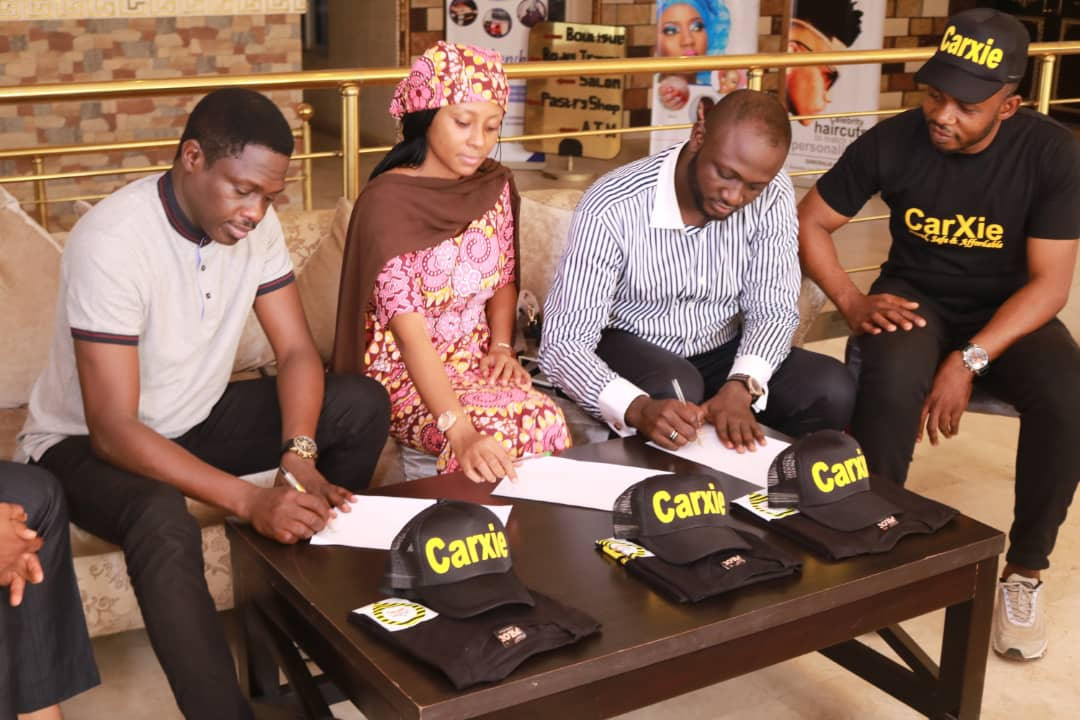 Ali Nuhu, Maryam Booth Uzee becomes first sets of CarXie Mobile Cab ambassadors in Nigeria