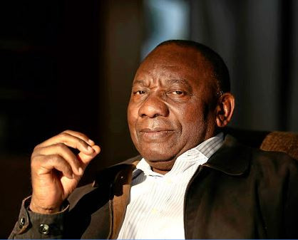 Cyril Ramaphosa elected as South African president unopposed