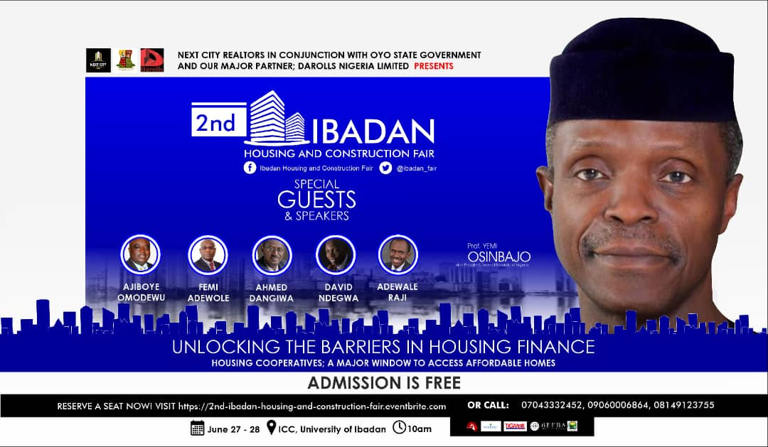 Showcase your Brand and Attract New Customers at the Ibadan Housing Fair 2019