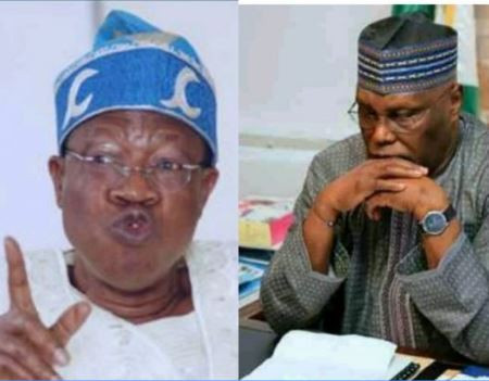 Atiku demands the arrest of Lai Mohammed, says 'they plan to create chaos in the country and blame me for it'