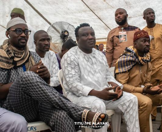 Photo: Fuji stars Pasuma and Saheed Osupa resolve their 5-year beef at Alao Malaika's 2019 Ramadan lecture