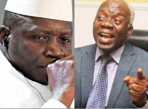 PresidentYahya Jammeh ordered illegal execution of nine Nigerians in Gambia - Femi Falana alleges