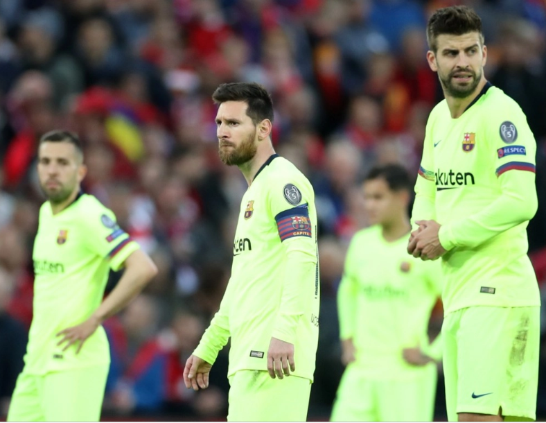 Gerard Pique admits Barcelona squad are still suffering psychologically after they were battered and knocked out by Liverpool from Champions League