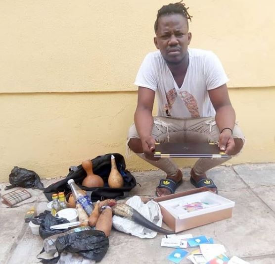 Fradsters arrested with charms plead guilty to fraud in Ilorin (Photos)