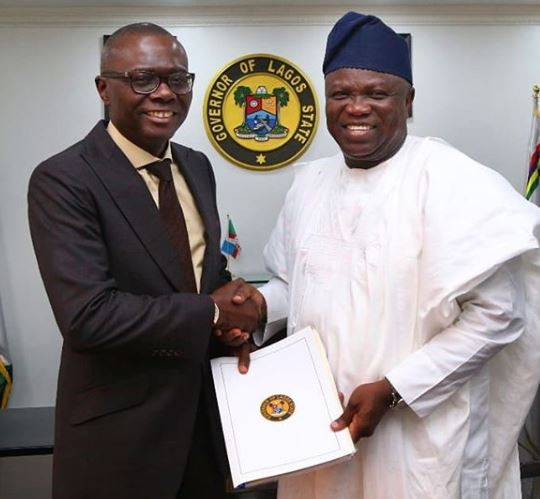 Ambode changes his social media profiles to read 'former' Governor of Lagos State (Screenshots)