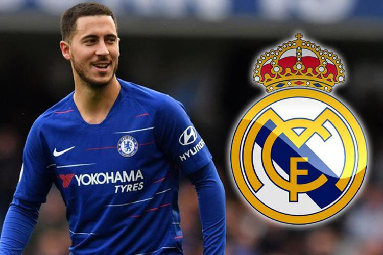 Chelsea 'agree 115m fee with Real Madrid for Eden Hazard & the Belgian will earn 400,000 per week'